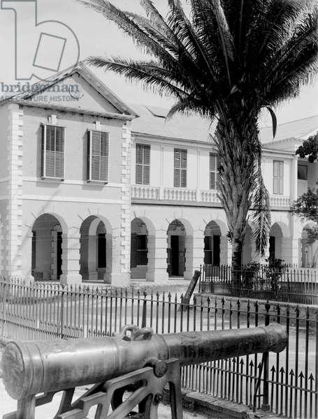 Spanish Town, Jamaica, 1908-09 (b/w photo)