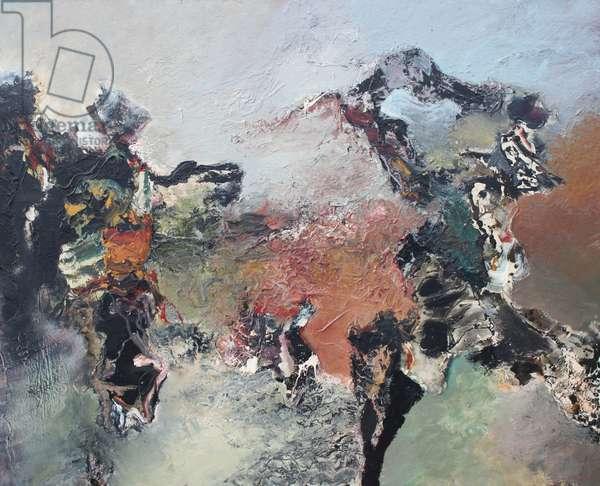 Triumph, 1988 (oil on canvas)