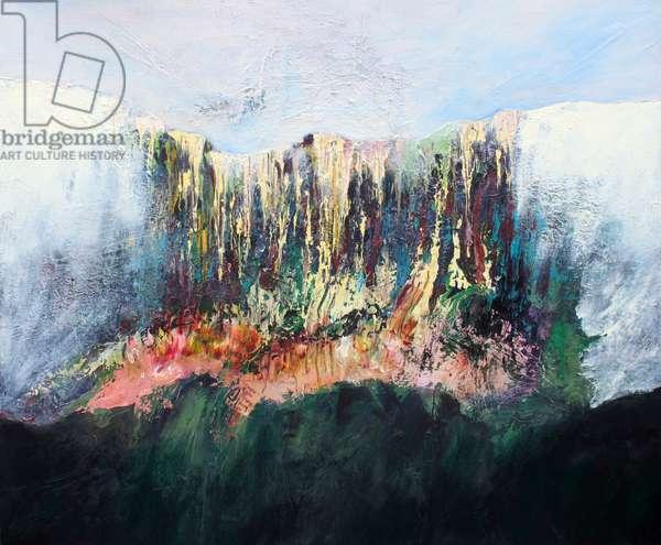 Misty Mountain, 2015 (oil on linen)