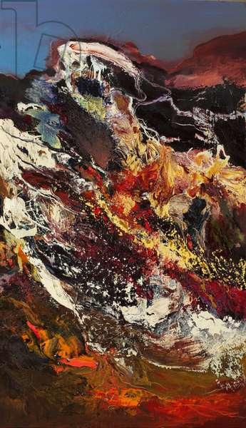 Autumn Leaves, 2008 (oil on canvas)
