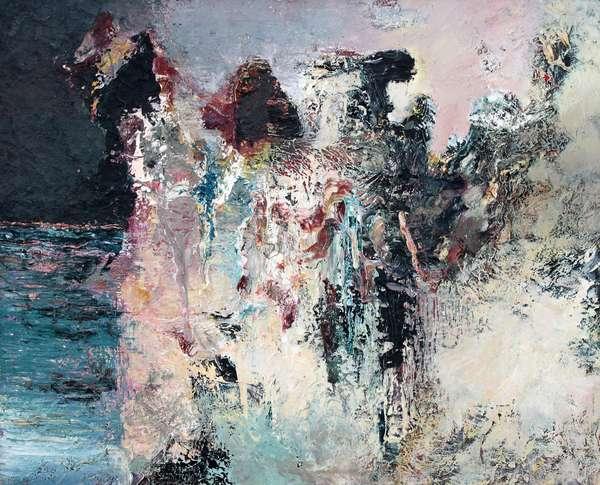 Plasmatic, 1988 (oil on canvas)