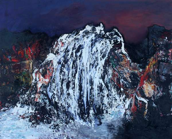 Spume, 2008 (oil on canvas)