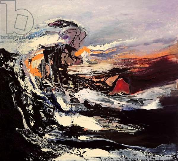 Wild Wind, 2009 (oil & acrylic on canvas)