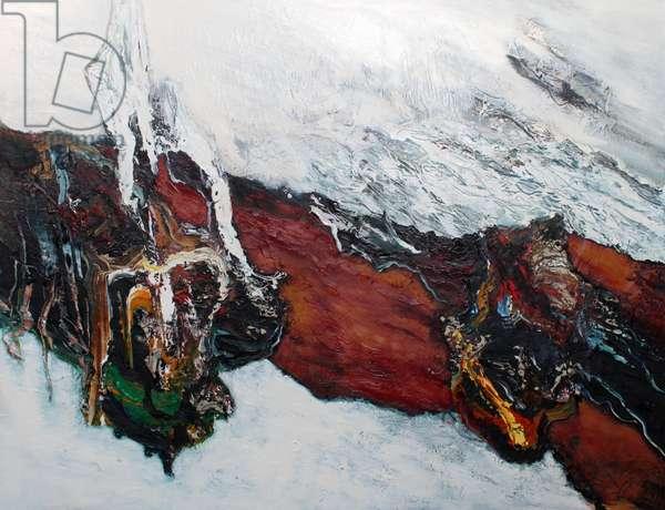Adrift, 2014 (oil on canvas)