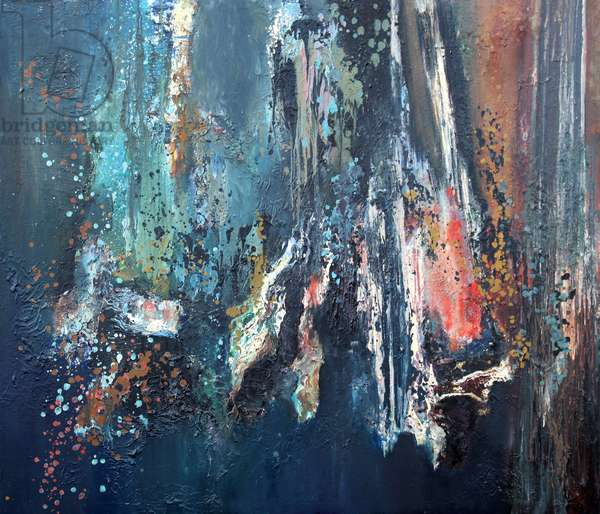 Beneath The Lake, 1986 (oil on canvas)