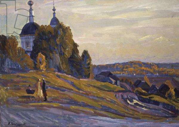 The Church on the Hill, Borovsk, 1985