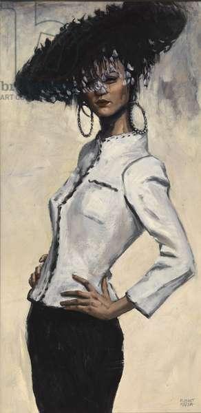 Suzy Chanel, 1997 (oil on board)