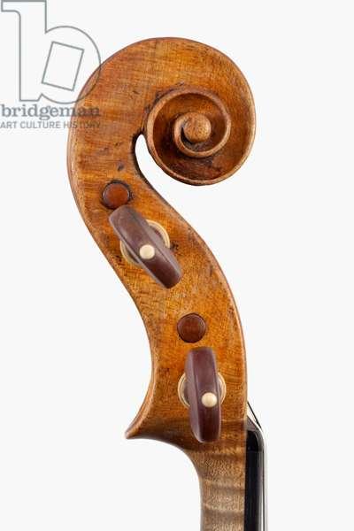 Violin (scroll), Naples, 1755