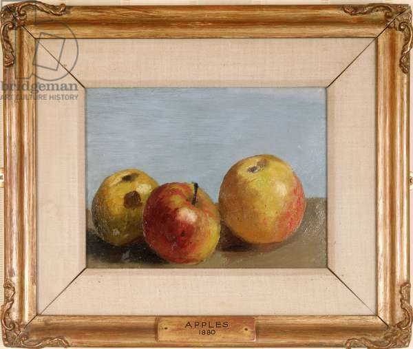 Apples, 1880 (oil on canvas)