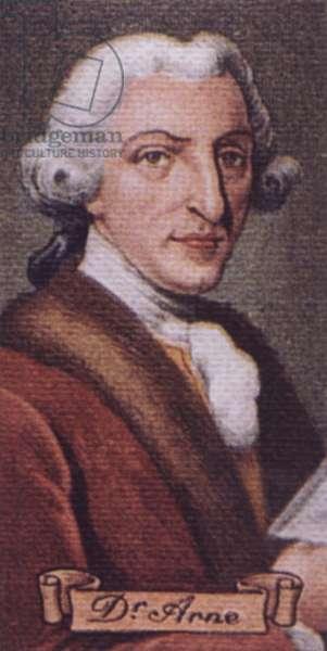 ARNE Thomas Augustine English
