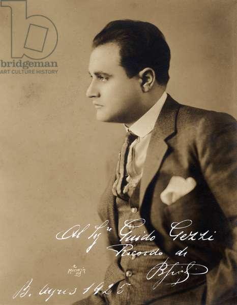 GIGLI Beniamino c 1925