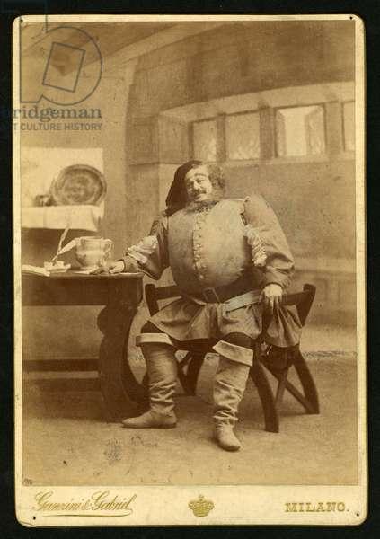 Victor Maurel as Falstaff
