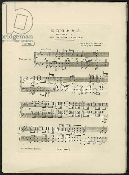 Beethoven's Piano Sonata No.32 Op.111