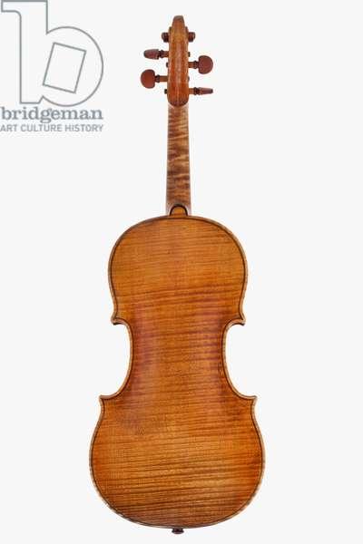 Violin (back), Cremona, 'Rutson', 1694