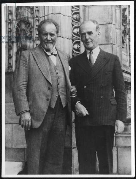 Henry Wood and Basil Cameron