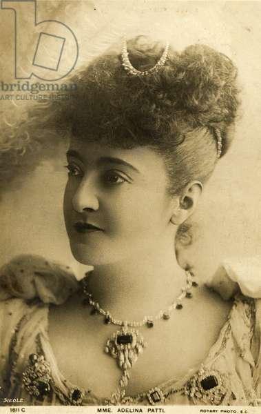 Adelina Patti Italian Soprano