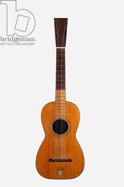 Six-course guitar by Jose Pages, Cadiz, Spain, 1805.