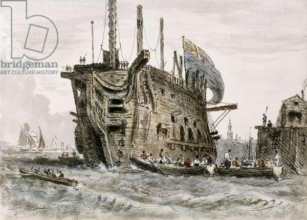 'Prison Ship' -  by William Crotch