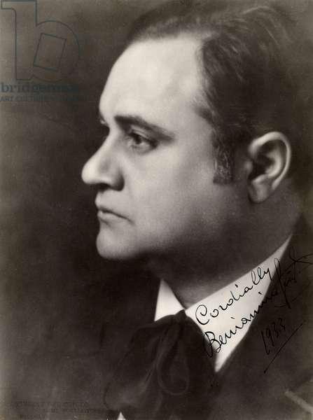 Beniamino Gigli Autographed photograph
