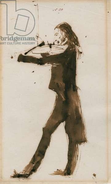 Niccolo Paganini - portrait