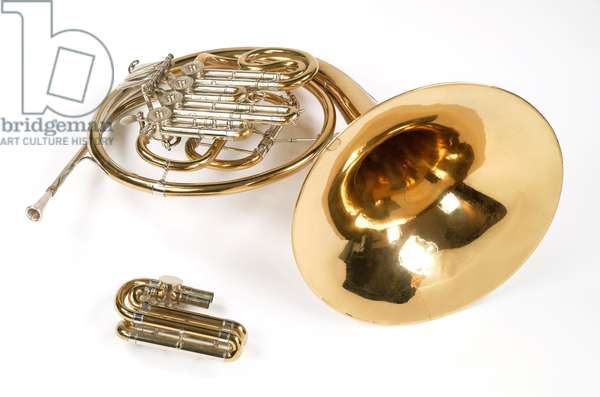 Horn played by Dennis