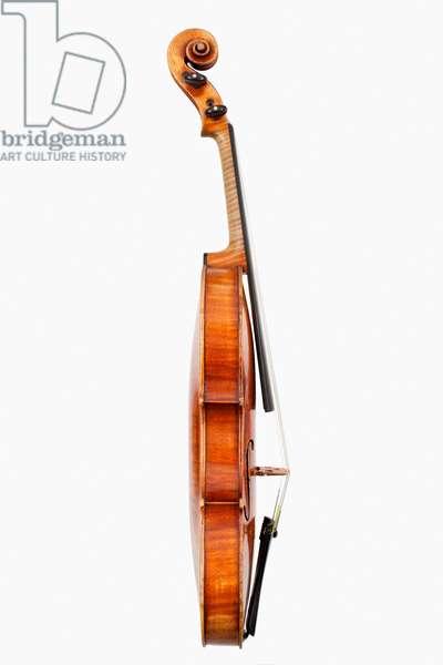 Violin (side), Cremona, 'Habeneck', c.1734