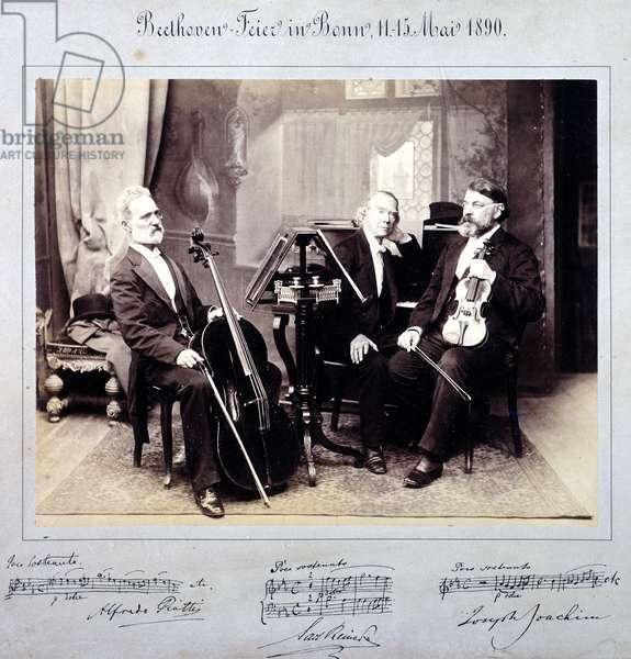 Piatti, Reinecke, Joachim. Bonn, 1890.