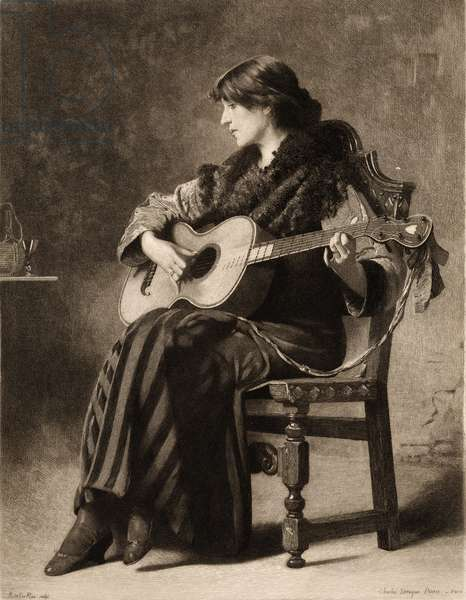 'Prelude' by Charles Sprague Pearce.