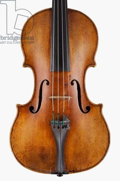 Violin (body), Naples, c.1746
