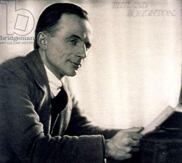 BOUGHTON Rutland English composer