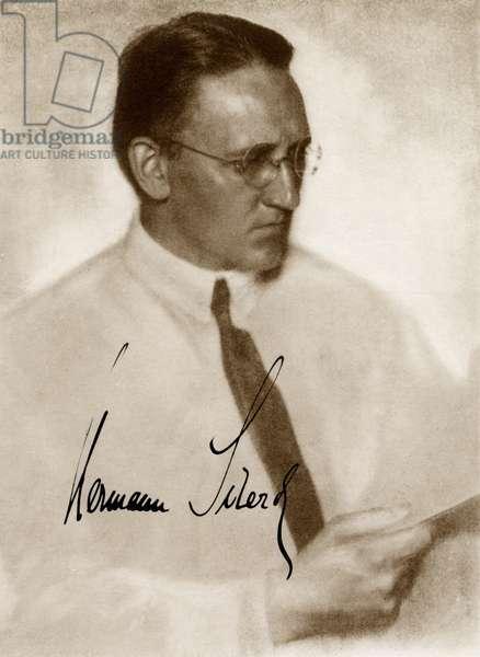 SCHERCHEN Hermann - signed