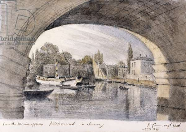 '  Richmond in Surrey' by William Crotch