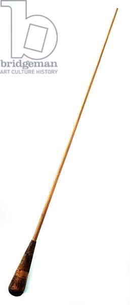 Conductor's baton belonging to George Georgescu