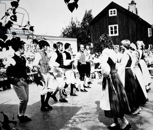 Sweden - Swedish folkdancers