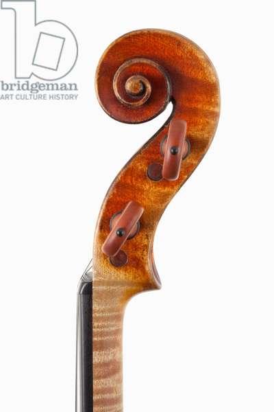 Violin (scroll), Cremona, 'Viotti ex-Bruce' 1709