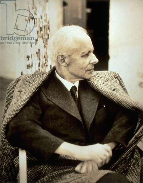 Bela Bartok portrait Hungarian