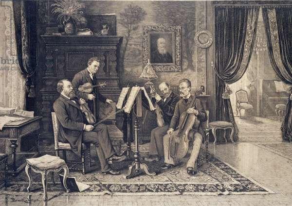 The Joachim Quartet founded