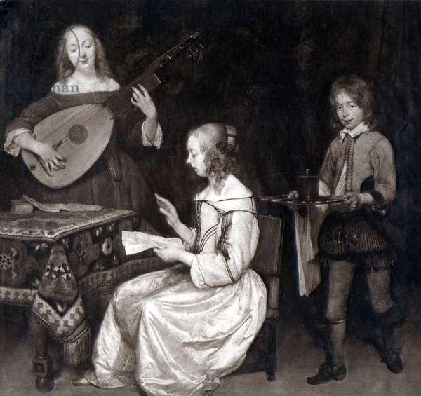 Gerard ter Borch, 'Musical Scene.'