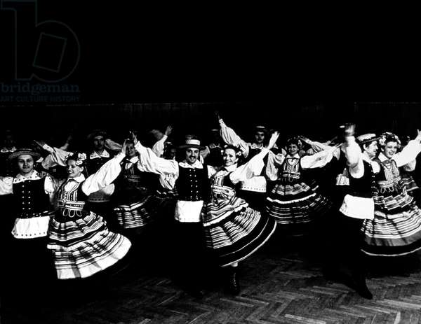 Polish folk dance Lublin