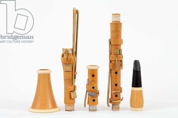 Classical Clarinet by Ackermann, 11 keys, 430Hz, Grenser copy, 1990s
