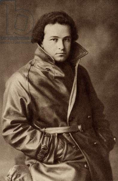 Arthur Honegger in leather