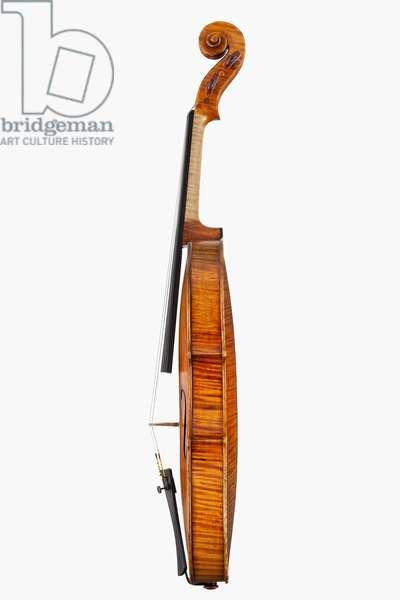 Violin (side view), Cremona, 'Maurin', 1718