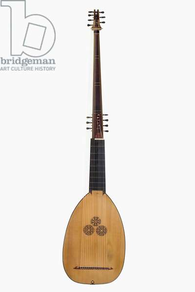 Theorbo by Martin Bowers, 1987