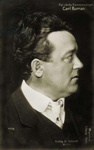 Carl Burrian (Karel Burian)