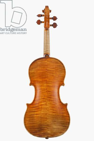 Violin (back), Cremona, 'Maurin', 1718