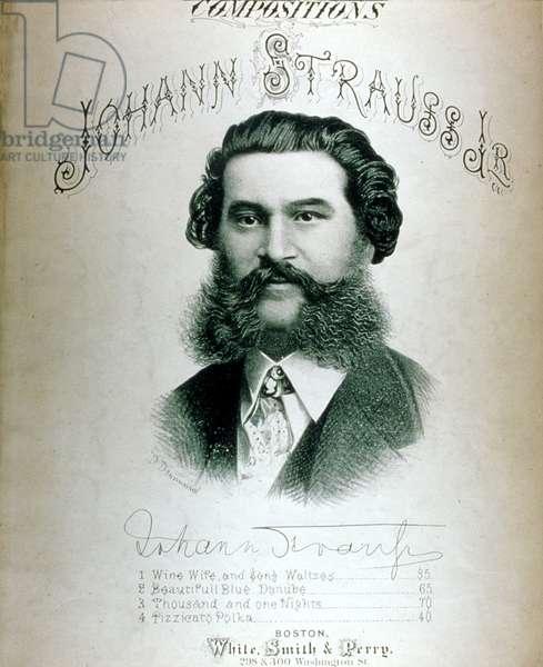 Johann Strauss II on