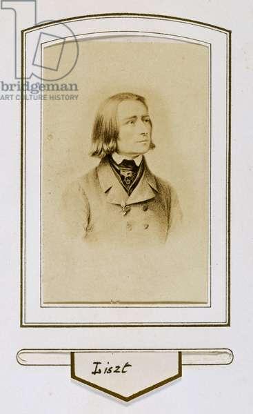 Franz Liszt when young
