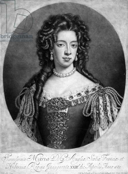 Mary of Modena, 1703.