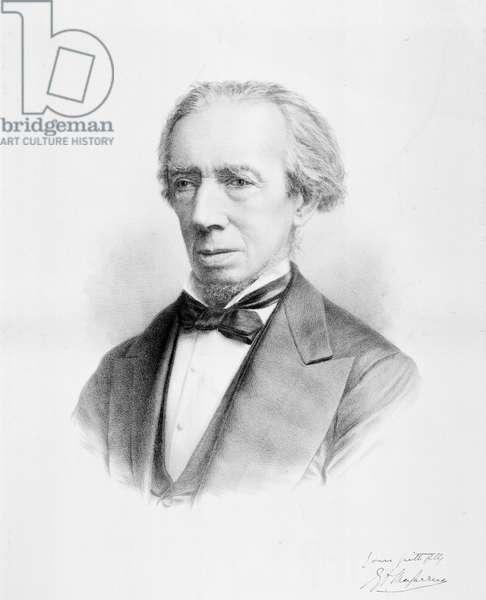 Sir George Macfarren lithograph