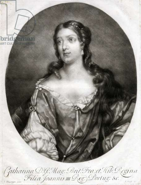 Queen Catherine of Braganza, c.1680.